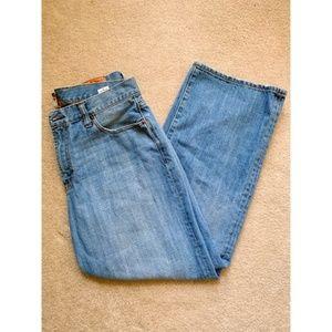 Lucky Brand Light Medium Wash Short Inseam Jeans
